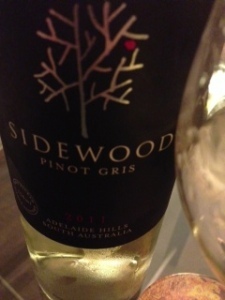 Sidewood Pinot Gris