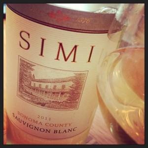 Simi 2011 Sauv Blanc