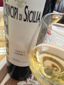 White wine of Sicily