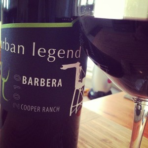 Urban Legend 2010 Barbera