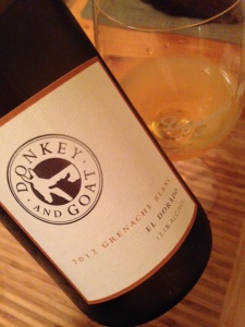 Donkey and Goat Grenache Blanc
