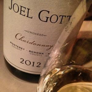 Joel Gott 2012 Unoaked Chardonnay